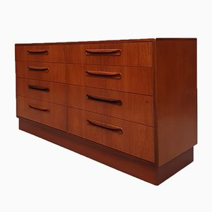 Mid-Century Fresco Teak Double Chest of Drawers from G-Plan