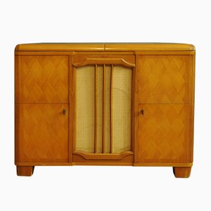 Cabinet with Music Box from AB Gylling & Co Stockholm, 1960s
