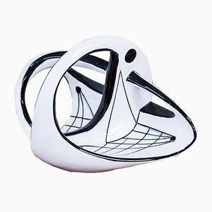 Escultura de porcelana Mobile de Carl-Harry Stålhane para Rörstrand, 1953