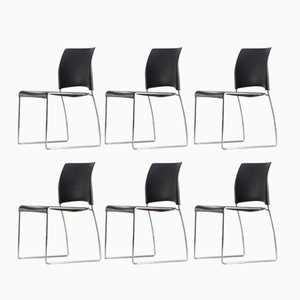 Nimble Stackable Chairs by Norm Architects for Allsteel, 2000s, Set of 6