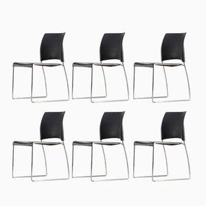 Sedie impilabili Nimble di Norm Architects per Allsteel, inizio XX secolo, set di 6