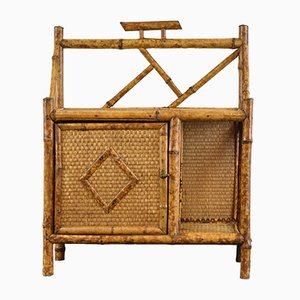 Meuble Antique en Bambou, 1880s