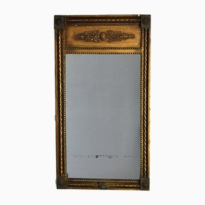Small Georgian Gilt Pier Mirror, 1820s