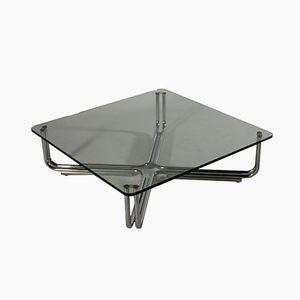 Table Basse Vintage par Gianfranco Frattini pour Cassina