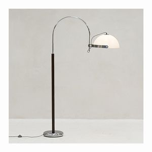Dutch Arc Floor Lamp from Dijkstra, 1970s
