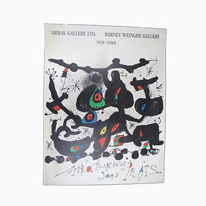 Joan Miró Homenatge a Prats Poster, 1971