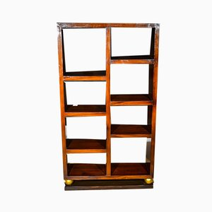 Art Deco Walnut Bookcase, 1920s