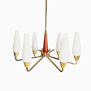 German Modernist Chandelier, 1950s