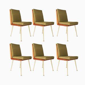 Chaises de Salle à Manger Modernistes par Albrecht Lange & Hans Mitzlaff pour Soloform, 1950s, Set de 6