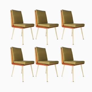 Modernist Dining Chairs by Albrecht Lange & Hans Mitzlaff for Soloform, 1950s, Set of 6
