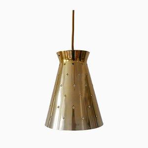 Lámpara colgante Diabolo alemana Mid-Century Modern de Hillebrand, años 50