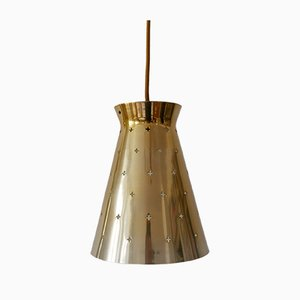 Mid-Century German Modern Diabolo Pendant Lamp from Hillebrand, 1950s