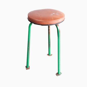 Russian Industrial Stools, 1960s, Set of 3