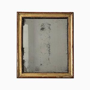 Espejo con cristal de mercurio del siglo XVIII