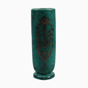 Swedish Argenta Vase by Wilhelm Kåge for Gustavsberg, 1950s