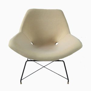 Skulpturale Sessel von Augusto Bozzi für Saporiti Italia, 1954, 2er Set
