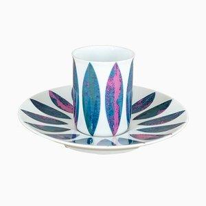 Espresso Cup & Saucer from Thomas Porzellan, 1960s