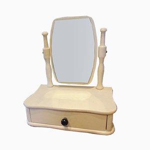 Vintage Wooden Children's Vanity Mirror from Nový Jičín, 1972