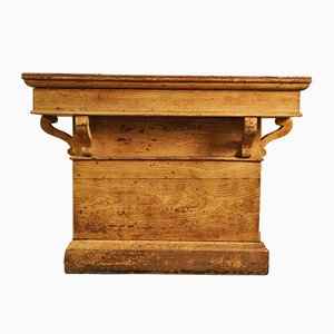 Small Antique French Market Counter