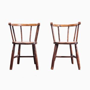 Victorian Children's Chairs, 1890s, Set of 2