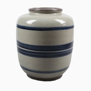 Mid-Century Vase aus Kunstkeramik von Meindert Zaalberg