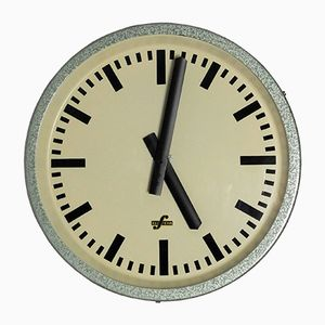 Orologio industriale di Elfema, Germania Est, anni '50