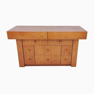 Italian Durmast Oak Dresser, 1970s