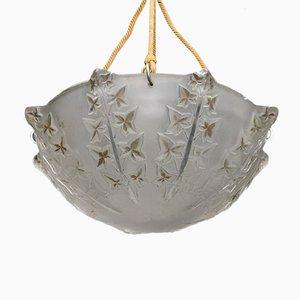 Lampada da soffitto Ivy di Rene Lalique, 1927
