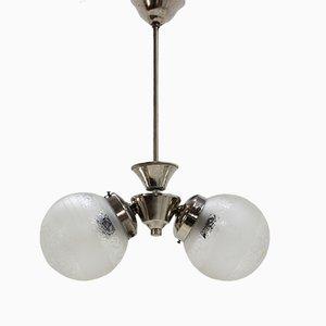 Lámpara de araña Art Déco de Napako, años 30