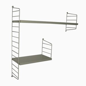 Vintage Shelving System by Kajsa & Nils Nisse Strinning for String, 1960s