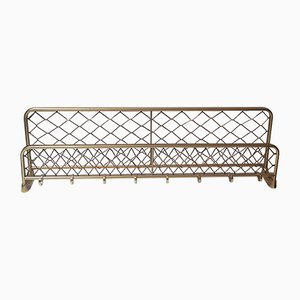 Vintage Brass Clothing Rack, 1950s