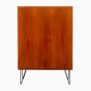Teak Highboard with Hairpin Legs, 1960s