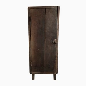 Antique French Industrial Linen Storage Cupboard