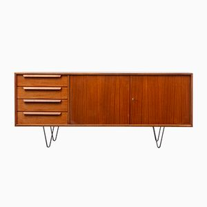 Teak Sideboard with Loop Feet, 1960s