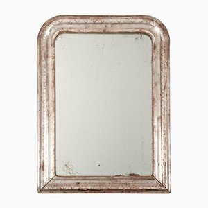 Antique French Louis Philippe Mercury Glass Mirror