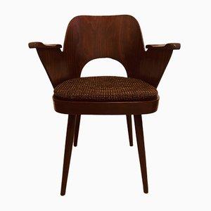 Silla vintage de Oswald Haerdtl para TON, años 50