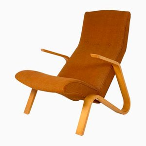 Poltrona Grasshopper di Eero Saarinen per Knoll International, anni '50