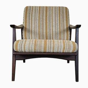 Dänischer Mid-Century Sessel mit Gestell aus Teak