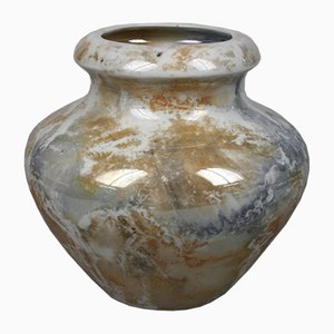 Vase Art Déco avec Émail Lustré de Arabia, Finlande