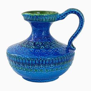 Jarra italiana Mid-Century de cerámica de Aldo Londi para Bitossi, años 60