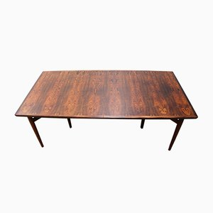 Large Rosewood Conference or Dining Table by Arne Vodder for Sibast, 1950s