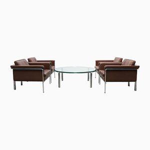 Juego de sillones y mesa de centro de Horst Brüning para Kill international, años 60
