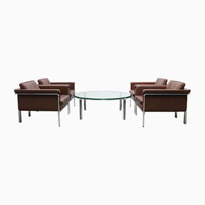 Set di poltrone e tavolino da caffè di Horst Brüning per Kill international, anni '60