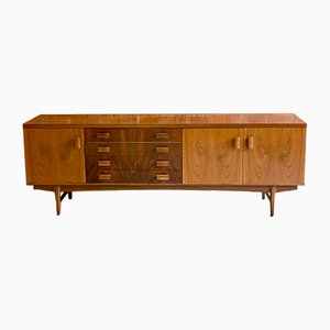 Mid-Century Rosewood & Teak Sideboard from BCM, 1960s