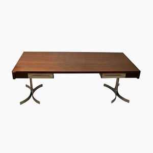 Large Executive Desk from Trau S.p.A., 1960s