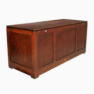 Large Mid-Century Pine Trunk, 1950s