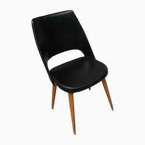 Chairs with Compass Legs, 1960s, Set of 4