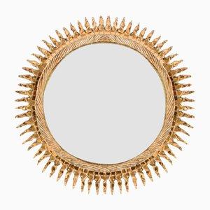 Vintage Sun Mirror by Line Vautrin, 1960s