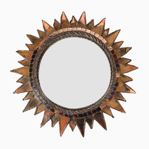 Spiked Sun Mirror by Line Vautrin, 1960s