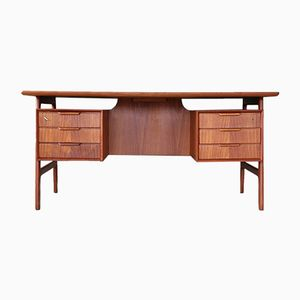 Vintage Danish Desk from Omann Jun, 1960s